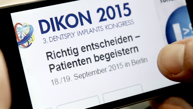 3. DIKON: DENTSPLY Implants Kongress 2015